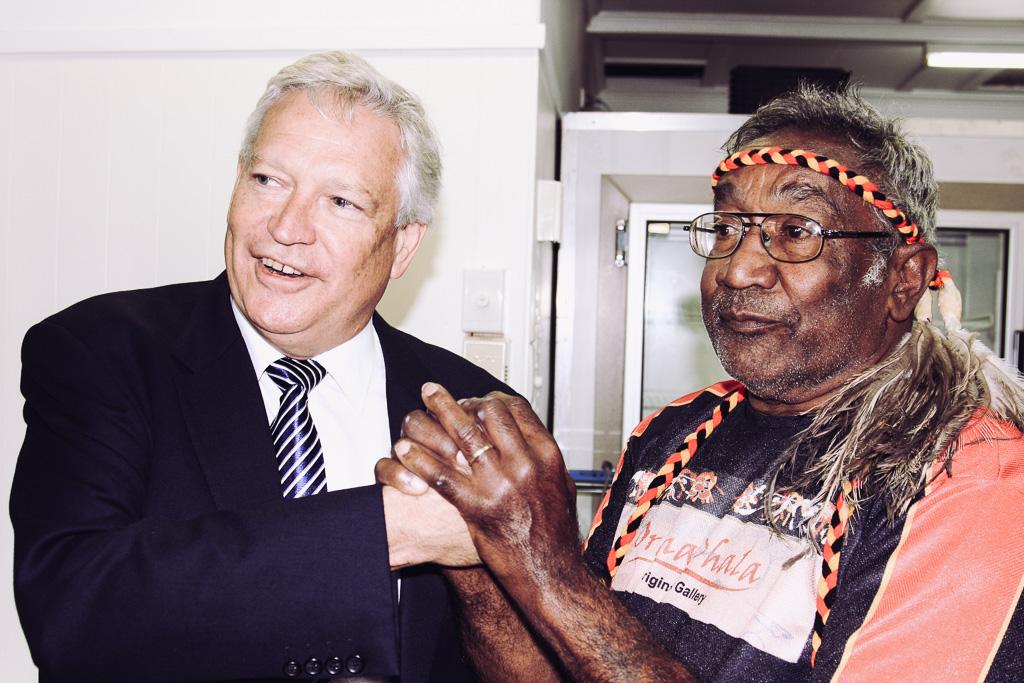 Justice Reeves and Uncle Wayne Saunders